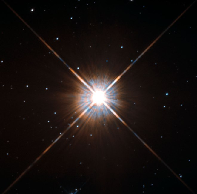 Hubble's New Shot of Proxima Centauri, our Nearest Neighbor - Hubble - Nasa